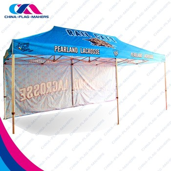 Custom Trade Show Display 10 X 20 Fold Canopy Tent For Sale