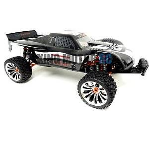 King Motor 1/5 Scale 4WD RC T2000 Truck 30.5cc 4 BOLT Gas HPI Baja Compatible