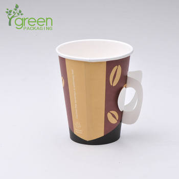Disposable Tea Cup With Handle Paper Cup With Handle Buy
