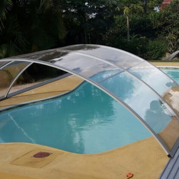 Customizable Veranda Retractable Swimming Pool Roof Top Enclosures With Good Prices Buy Retractable Pool Enclosures Price Retractable Roof Veranda Product On Alibaba Com