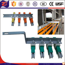 Single pole H Aluminum crane bus bar