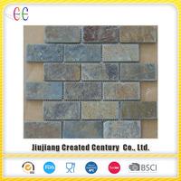 Slate mosaic tile for wall