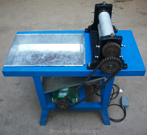 Electrical Beeswax comb Foundation Machine, Making comb foundation for bee