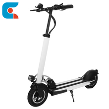 Adult Korea Foldable 2 Big Wheels Electrical Kick Scooter with Foldable Seat