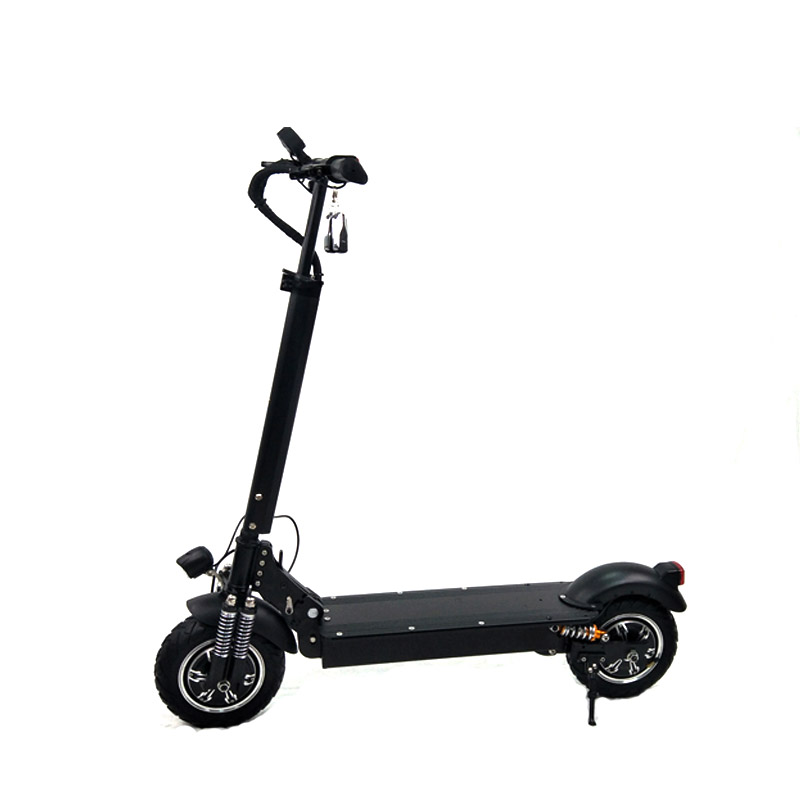 Newest item 11inch 52V lithium battery electric scooter 2000w with seat for adult 2000 watt electric scooter, Black