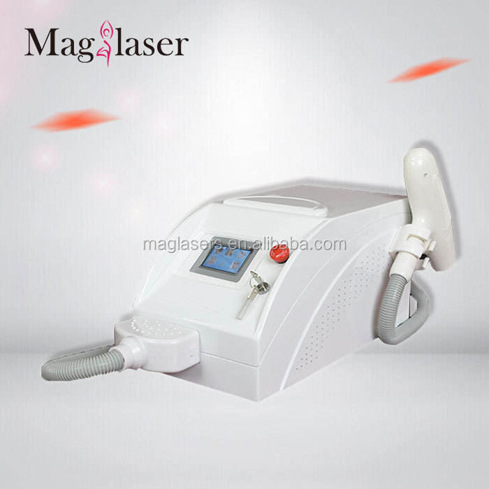 portable q switch nd yag laser / handheld yag laser tattoo removal/ birth mark removal