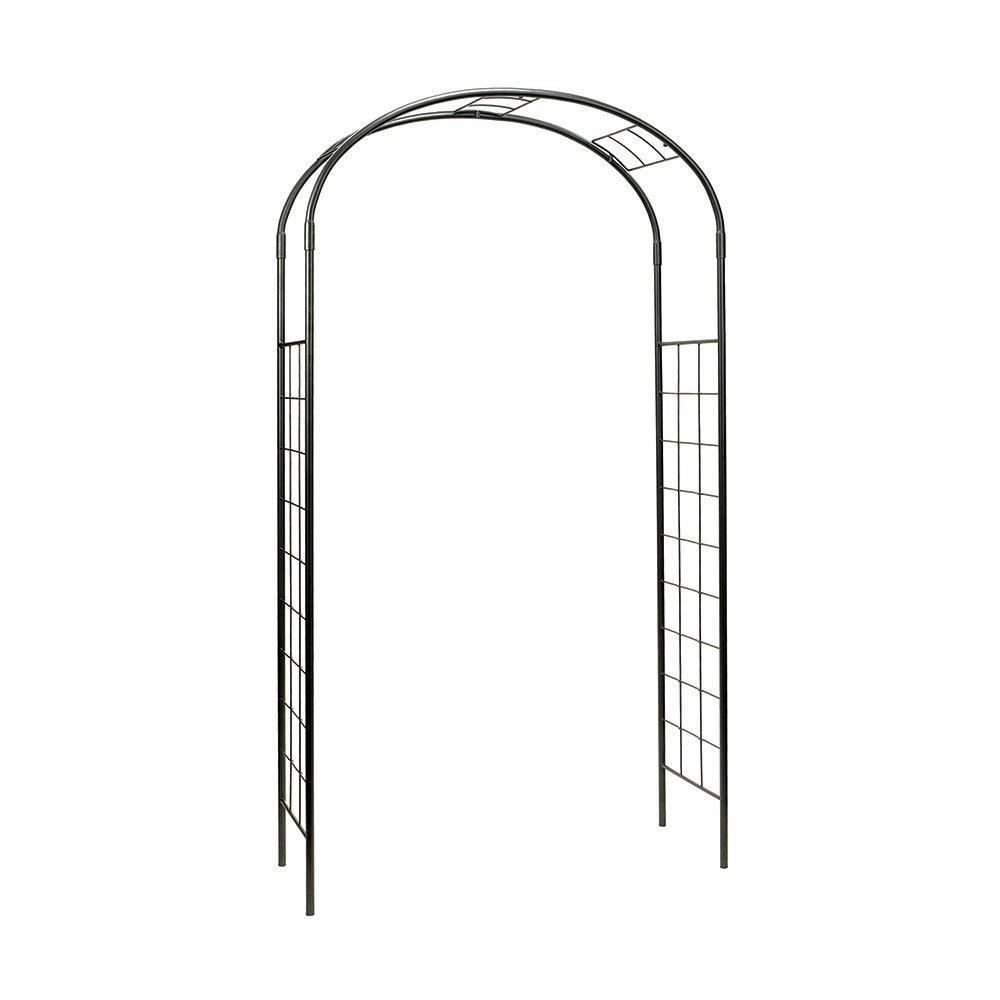 Achla Designs ARB-10 Monet Arbor Garden Arch, Graphite