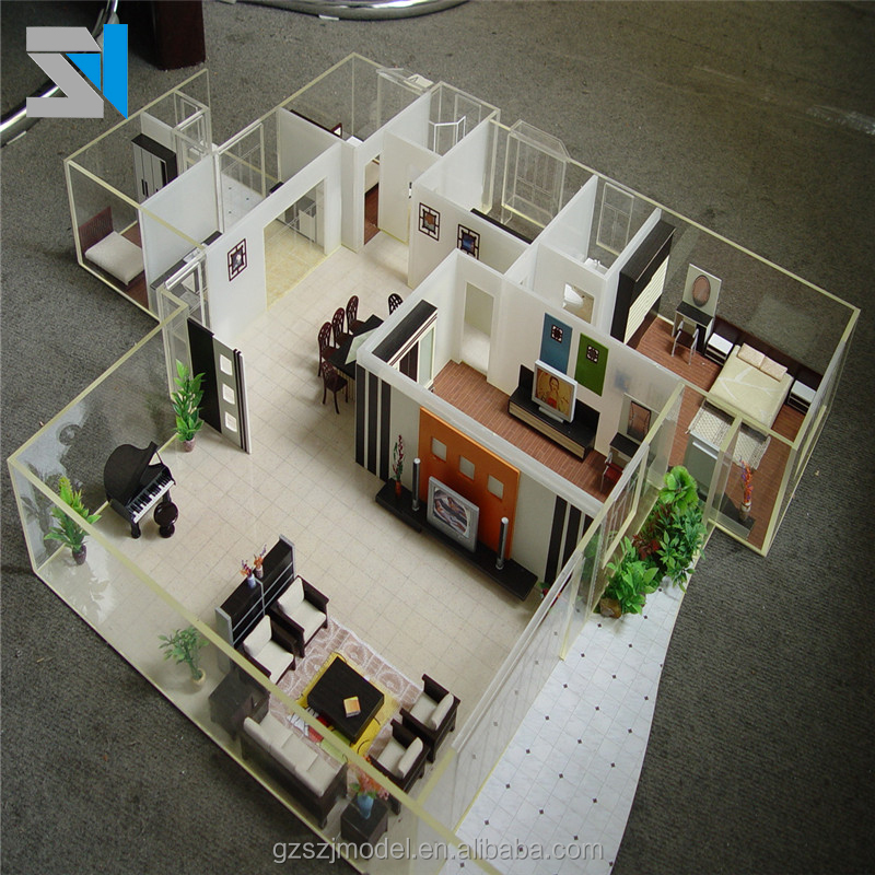 Scale 1:25 interior design model making , Architectural model for sale
