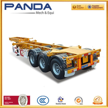 Panda Skeletal 40 feet container semi trailer / used container chassis sale
