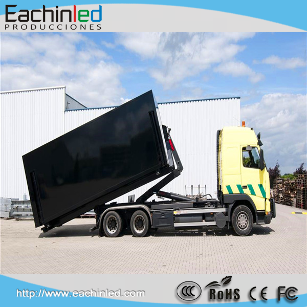 P8/10 outdoor Easy installation Europe certified mobile truck led tv screen for European market/ led mobile stage truck for sale