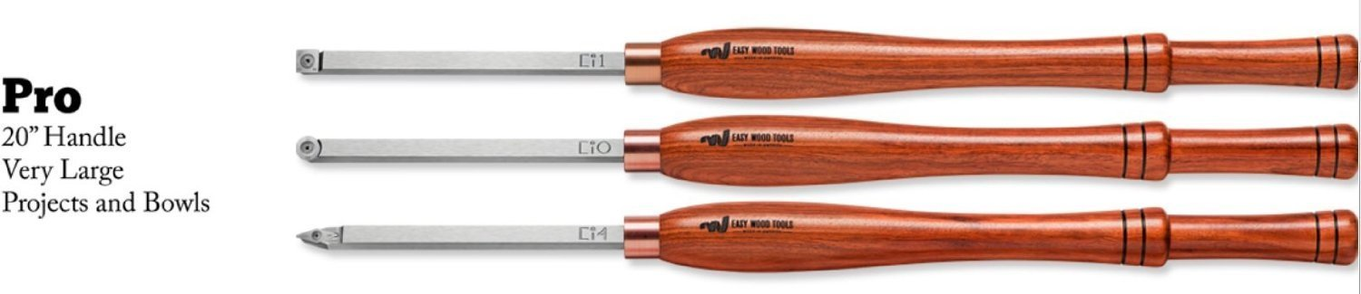Easy Wood Tools COMBO= Pro Easy Rougher+Pro Easy Finisher+Pro Easy Detailer