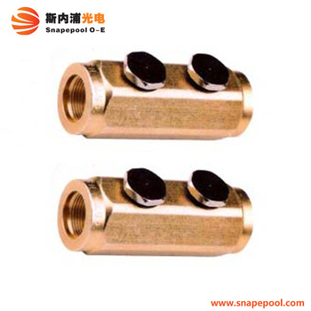 CATV Hardline Coaxial Cable Socket Splice Block / Female to Famale Splice Connector