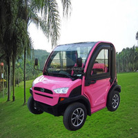 battery powered mini 2 seats electric shuttle bus
