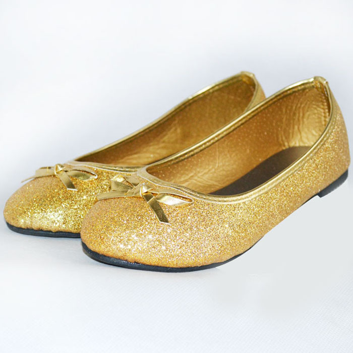 Gold Dress Shoes For Infants