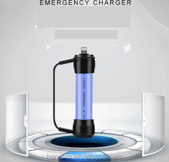 New brand mini portable long battery life emergency charger for iPhone8 ,for iphoneX,for Samsung and Android Phone