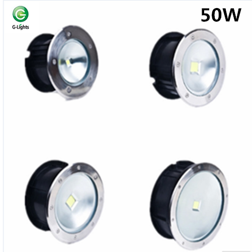 Wholesale customized round waterproof top quality washers outdoor 50W IP65CE ROHS approve led underground paving light