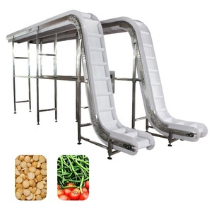 material handling equipment food transfer belt conveyor / white food grade conveyor belt