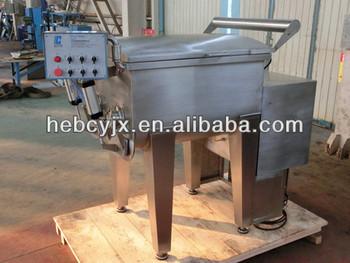 vacuum meat mixer mixing machine double shaft 91kw 800kg 380v - Meat Mixer