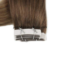 Wholesale 8A Russian Remy Tape Hair Extensions Double Drawn Tape In Hair