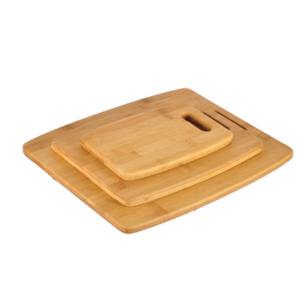 3-piece cutting board <strong>bamboo</strong>