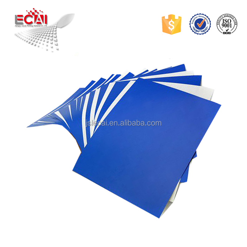 Aluminium-Blue-Coating-Thermo-Ctp-Platte