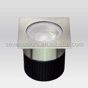 Square Led Underground Light 4 5w Low Voltage In Ground Ce Rohs Ul Certified