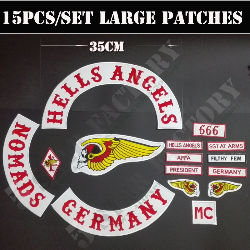 pin hells angels patches on pinterest. Black Bedroom Furniture Sets. Home Design Ideas