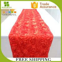 outer door wedding rosette decorative table runner