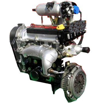 Nieuwe 3 cilinder 800cc 50hp SQR372 gas motor made in China