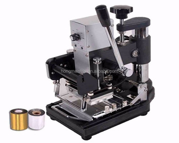 c9927915d02 Best price Small Manual Hot Foil Stamping Machine Bronzing Machine For Name  PVC Card