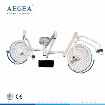 AG-LT019 health medical emergency hospital clinical apparatus double head led shadowless LED operating lamp for surgical
