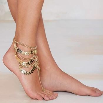 Zeer Groothandel Alibaba Gouden Ketting Armband Indian Sieraden Enkel @CF44