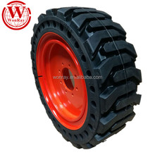 skid steer wheels and rims, 385 / 65-d22.5 445 / 65-d22.5 10-16.5 12-16.5 bobcat skidsteer solid rubber tires for sale