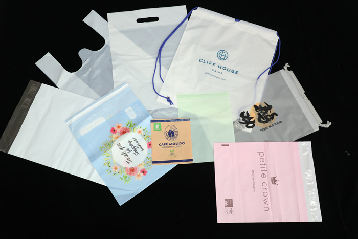 customized with Certified BPI EN13432 new products biodegradable compostable packaging bags with cotton drawstring