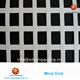 Underground Coal Mine Grid Ceiling Grid Protection Grid With Fire Retardant