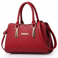 2017 Women luxury handbags new stylish female shoulder bags new ladies pu leather messenger bags casual totes authentic designer