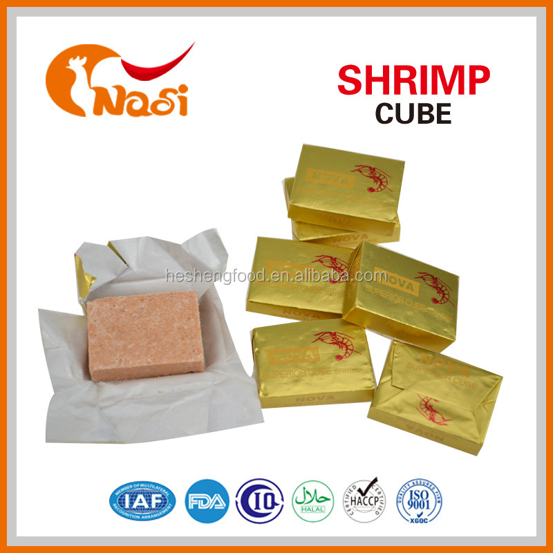 Nasi crab flavor bouillon cube for cook