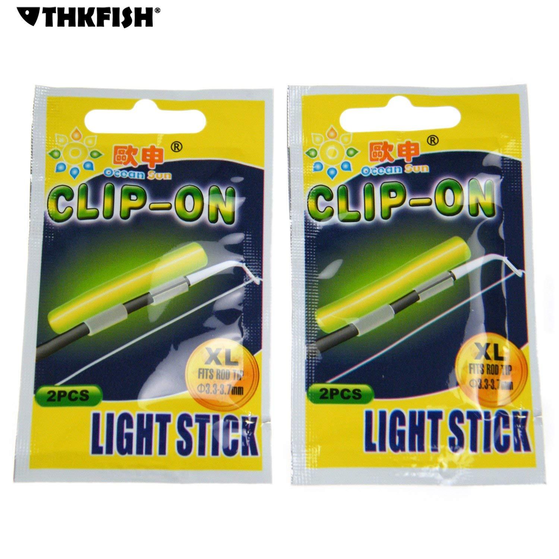 3.0*25mm Float Glow Stick Night Fishing Green Fluorescent Light Fishing Glow Sticks 50pcs 10bags THKFISH Fishing Glow Sticks
