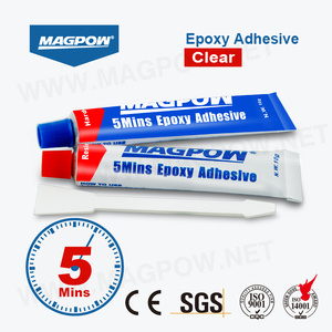 Magpow 2 Part Epoxy Clear Coat Adhesive Glue For Cast Iron