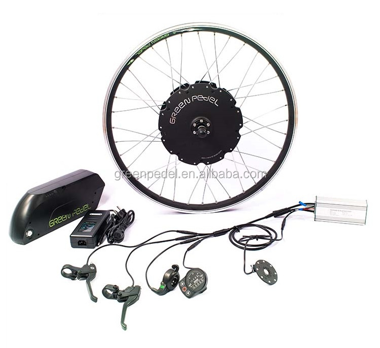 Electric Bike Motor Kit Rear Drive 500W-1000W Hub Ebike E-bike Conversion Kit