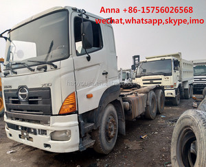 Japan brand Hino 700 truck 25t 6x4 tractor trailer head