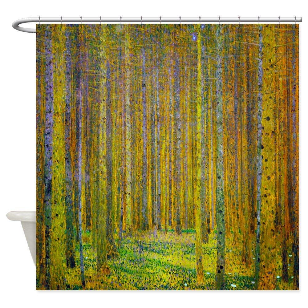 Buy CafePress Gustav Klimt Pine Forest Shower Curtain
