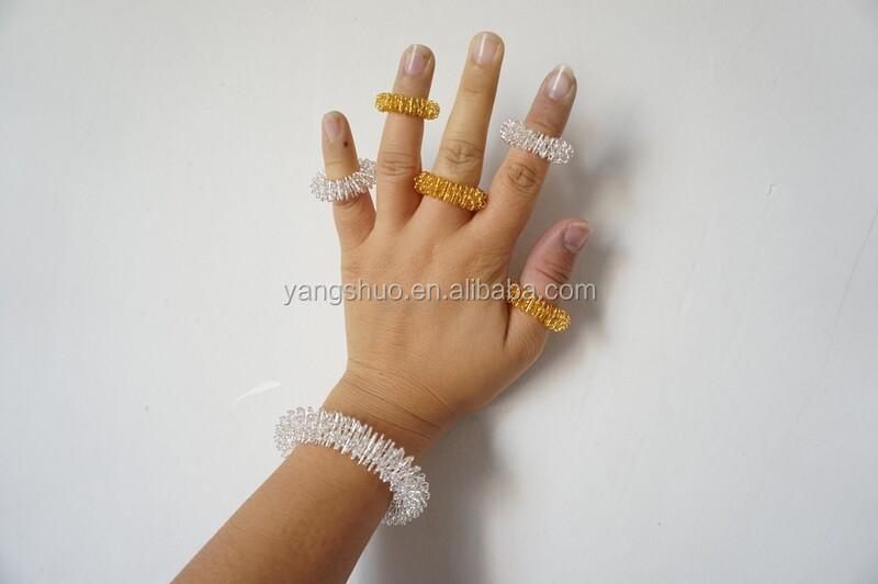 Buy Finger massage roller/ ring/ acupressure/ acupuncture ring ...