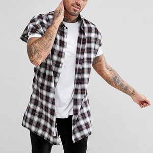 latest shirts for men pictures cap sleeve check shirts for men