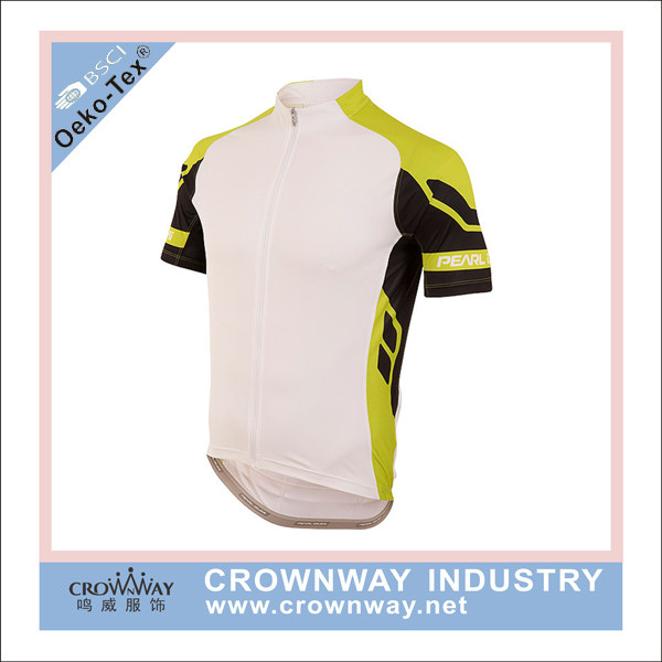 Wholesale Cheap China Sublimation Print Cycling Clothing With Silicon band