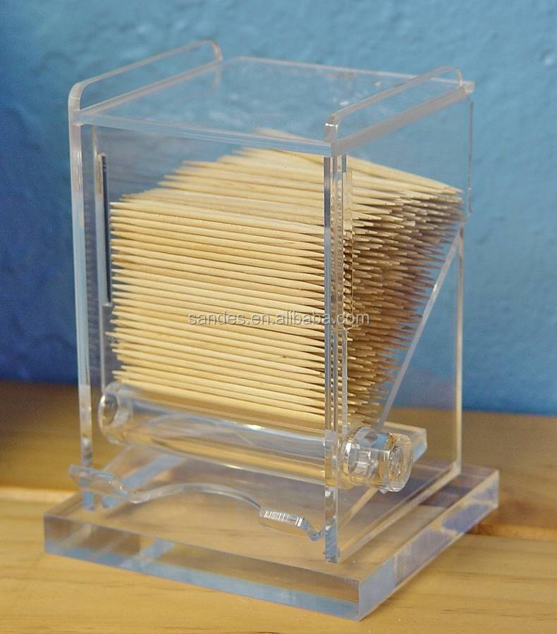 Luxury Acrylic Display Case for Toothpick Placed