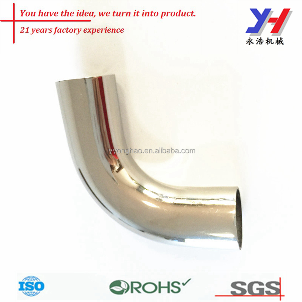 OEM ODM small galvanized pipe bends stainless steel bends aluminum mandrel bends