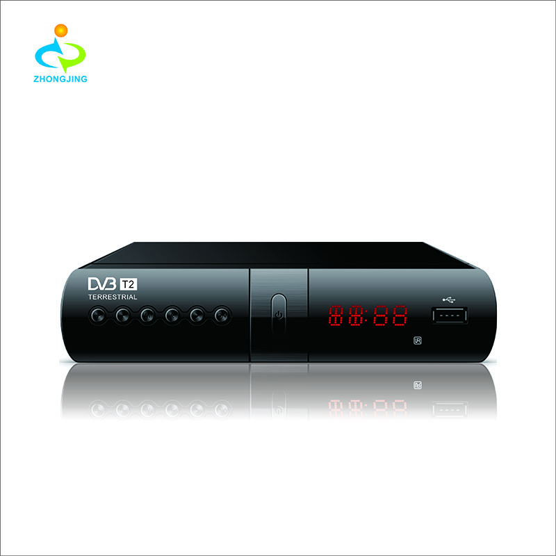 LGR HD 1080 P DVB-T2 Video Digitale Ricevitore TV H.264/MPEG-2/4 Compatibile DVB-S/DVB-T Set- top Box
