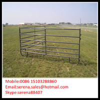 pvc painting galvanized goat & sheep panels (Direct Factory)
