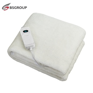 Bed heater electric blanket washable electric warmer bed heated mattress pad